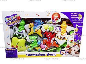 Карусель на кроватку с музыкой, D059, toys