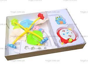Карусель-погремушка на кроватку, 6518ACD, детские игрушки