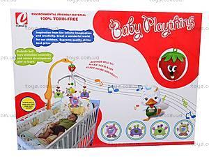 Карусель-погремушка, на кроватку, D881A, игрушки