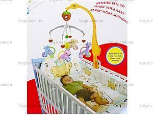 Карусель-погремушка, на кроватку, D881A, магазин игрушек