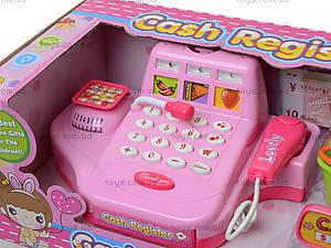 Кассовый аппарат для детей с набором продуктов, 2238A, купить