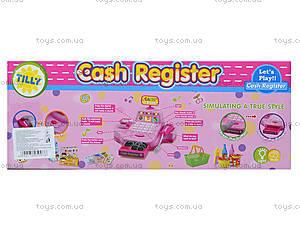 Кассовый аппарат для детей с набором продуктов, 2238A, фото