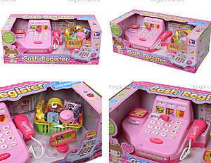 Кассовый аппарат для детей с набором продуктов, 2238A