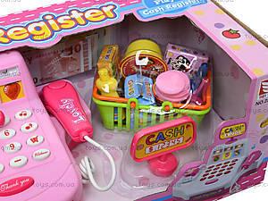Кассовый аппарат для детей с набором продуктов, 2238A, отзывы