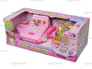 Кассовый аппарат для детей с набором продуктов, 2238A, цена