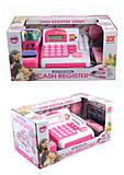 Кассовый аппарат, бело-розовый, 2900N