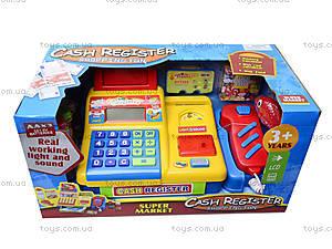 Музыкально-световой кассовый аппарат для детей, 34451, игрушки