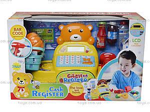 Игрушечная касса со сканером «Медвежонок», 35561, отзывы