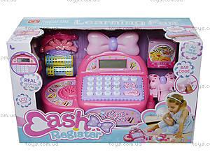 Кассовый аппарат с музыкальными эффектами, 35562, детские игрушки