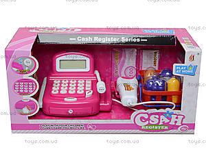 Кассовый аппарат со сканером и продуктами, 8088A-2, игрушки