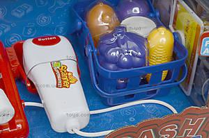 Кассовый аппарат с весами и сканером, 8088B, игрушки
