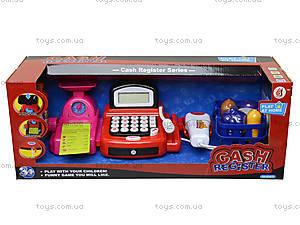 Кассовый аппарат с весами и сканером, 8088B, детские игрушки