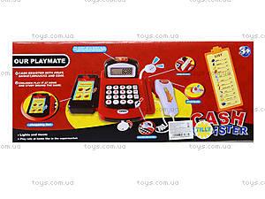 Детский игровой кассовый аппарат для малышей, 8088C, фото