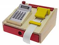 Кассовый аппарат деревянный, NIC528735