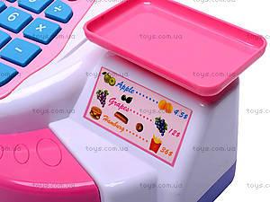 Кассовый аппарат, детский, 5613, детские игрушки