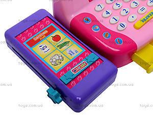Кассовый аппарат для девочек, 986A, игрушки