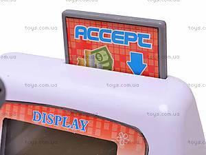 Кассовый аппарат для игры в магазин, 031N, детские игрушки