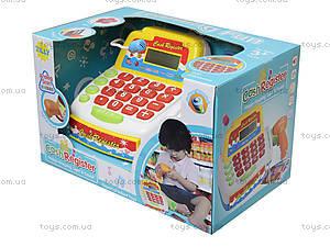 Детский кассовый аппарат для игры в магазин, FS-34440, купить