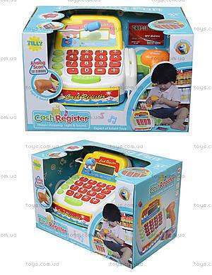 Детский кассовый аппарат для игры в магазин, FS-34440