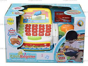 Детский кассовый аппарат для игры в магазин, FS-34440, отзывы