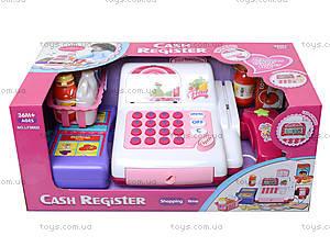 Детский кассовый аппарат для магазина, LF986D, игрушки
