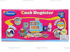 Игрушечный кассовый аппарат с продуктами, LF986E, купить