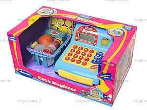 Игрушечный кассовый аппарат с продуктами, LF986E, фото