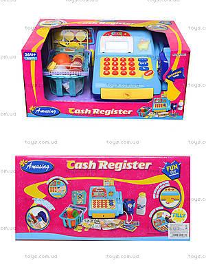 Игрушечный кассовый аппарат с продуктами, LF986E