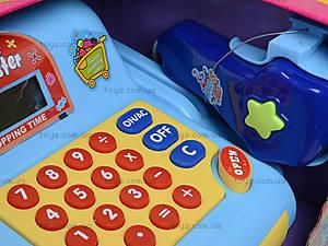 Игрушечный кассовый аппарат с продуктами, LF986E, отзывы