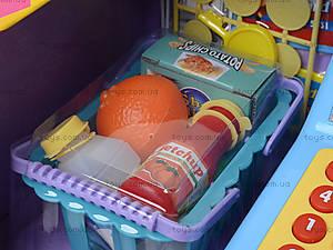 Игрушечный кассовый аппарат с продуктами, LF986E, цена