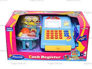 Игрушечный кассовый аппарат с продуктами, LF986E, игрушки