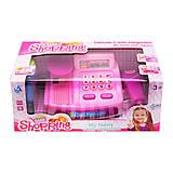 Кассовый аппарат розовый с эффектами, CF8607, тойс ком юа