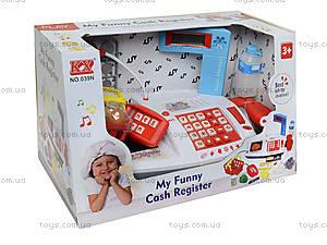 Игрушечный кассовый аппарат «Моя забавная касса», 039N, купить