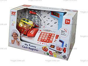 Игрушечный кассовый аппарат «Моя забавная касса», 039N, фото