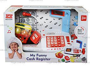 Игрушечный кассовый аппарат «Моя забавная касса», 039N, цена