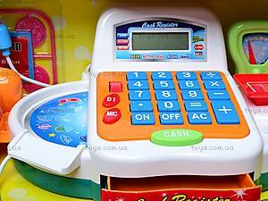 Кассовый аппарат с аксессуарами, FS-34542, игрушки