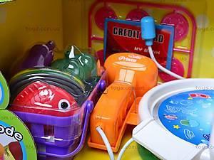 Кассовый аппарат с аксессуарами, FS-34542, детские игрушки