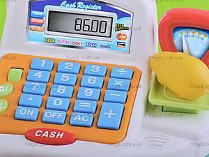 Кассовый аппарат с аксессуарами, FS-34542, магазин игрушек