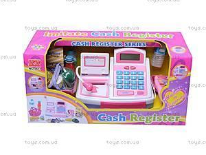 Кассовый аппарат с деньгами, 5611, детские игрушки