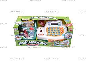 Кассовый аппарат с корзинкой, 7254, детские игрушки