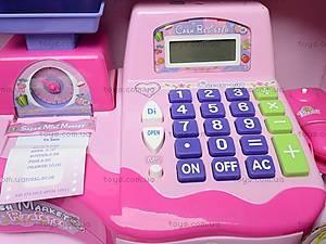 Кассовый аппарат с ЛСД-дисплеем, FS34218, магазин игрушек
