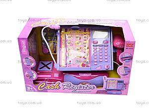 Кассовый аппарат, с микрофоном, 3213, магазин игрушек