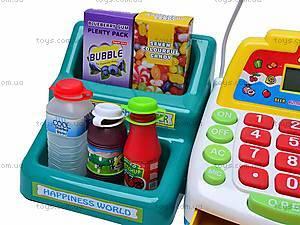 Кассовый аппарат с микрофоном, FS-34540, игрушки
