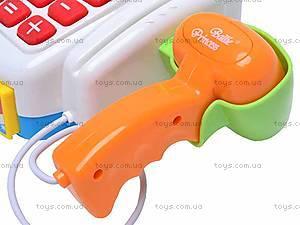 Кассовый аппарат с микрофоном, FS-34540, детские игрушки