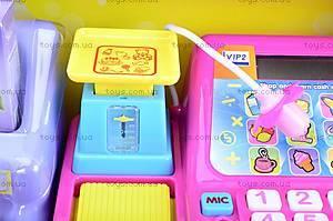 Кассовый аппарат с музыкой, FS-34541N, игрушки