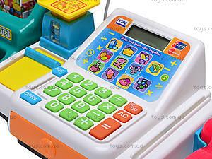 Кассовый аппарат с набором продуктов, FS-34541, игрушки