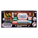 Кассовый аппарат со сканером-определителем «Happy Shopping», 888E, toys.com.ua