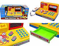 Кассовый аппарат со световыми эффектами, 7253, детские игрушки