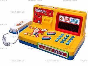 Кассовый аппарат со световыми эффектами, 7253, іграшки
