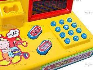 Кассовый аппарат со световыми эффектами, 7253, детский